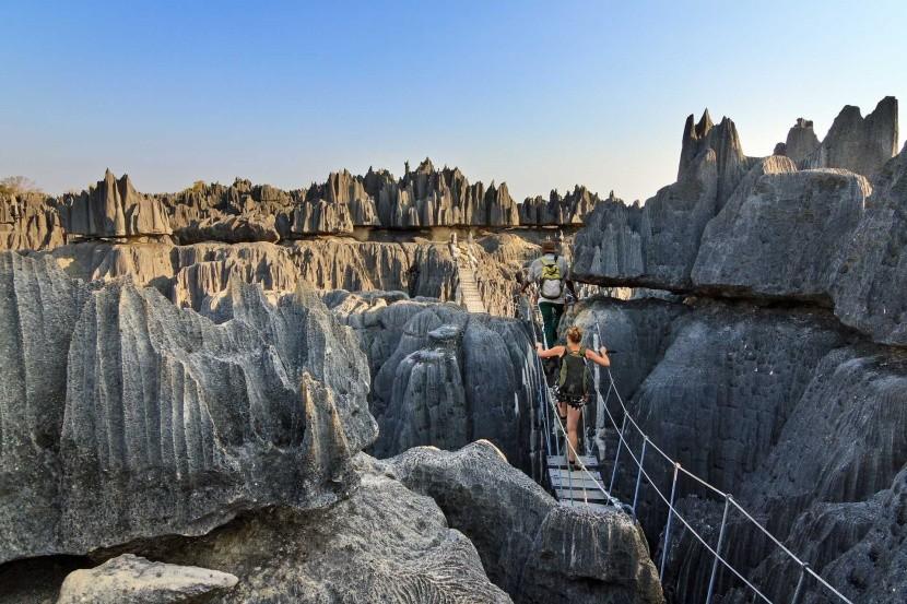 Tsingy de Bemaraha, Madagaskar