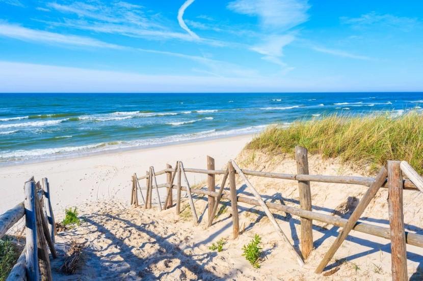 Cesta na pláž, Bialogora, Poľsko