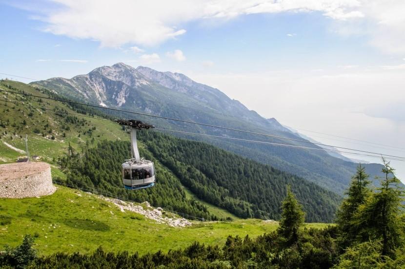 Panoramatická lanovka na Monte Baldo
