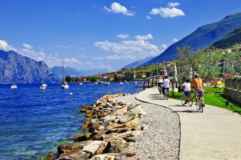 Cyklotrasa u Malcesine, Lago di Garda