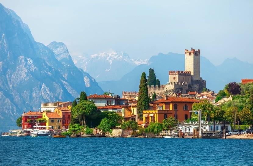 Malcesine, Lago di Garda, Taliansko