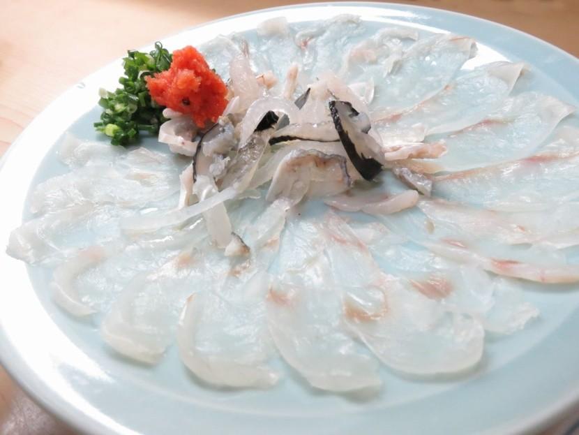Fugu Japán hal nemzeti étel