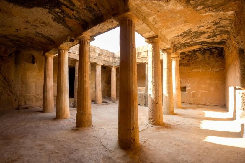Královské hrobky, Paphos, Kypr