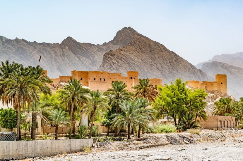Pevnost an-Nachal, Omán