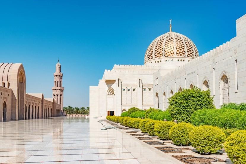 Mešita sultána Kábúse, Maskat, Omán