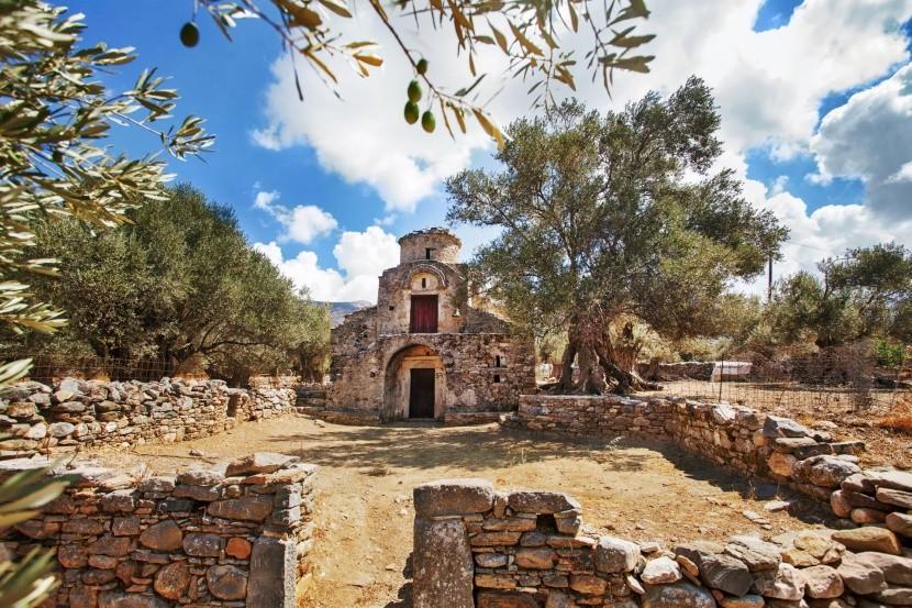 Kostel Agii Apostoli, Naxos, Řecko