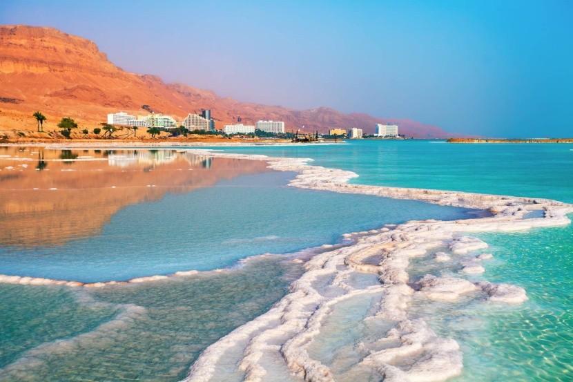 Hotely na izraelském pobřeží Mrtvého moře