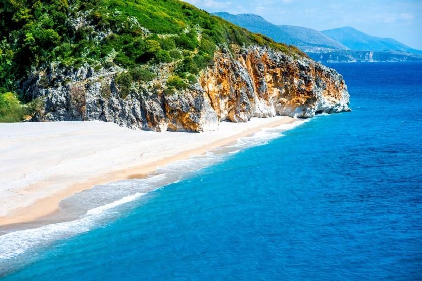 Pláž Gjipe, Albánie