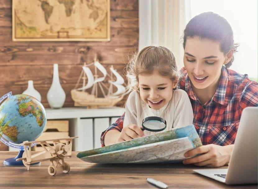 Plánování dovolené s dětmi