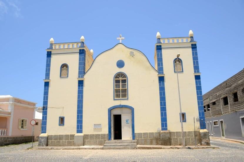 Kostel v hlavním městě Sal Rei