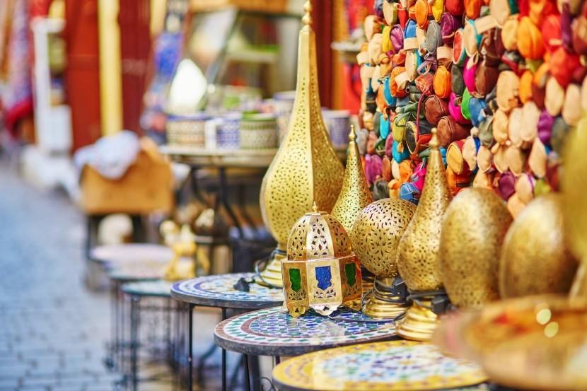 Marocké tržiště
