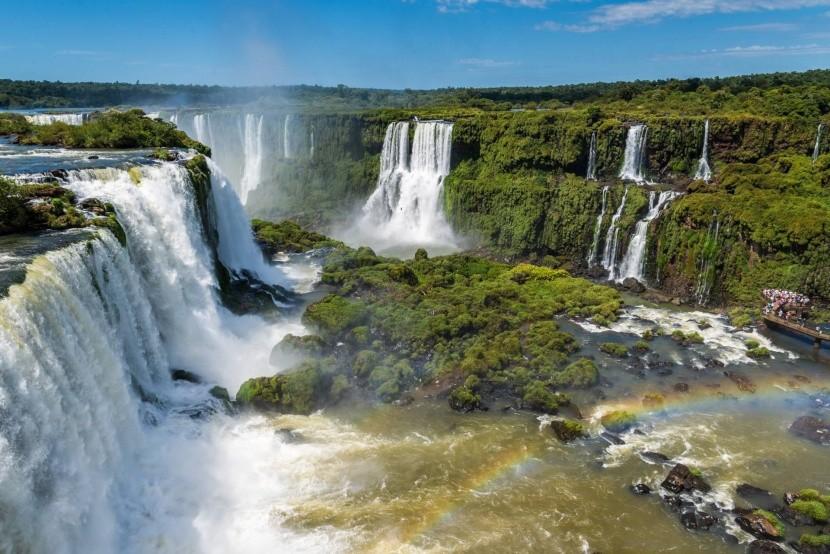 Vodopády Iguazu, Argentina, Brazílie