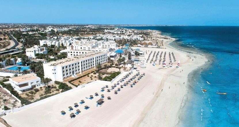 Pláž u hotelu Club Calimera Yati Beach