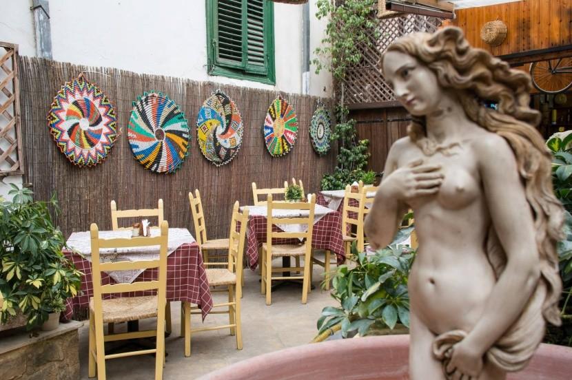 Rodinná restaurace v Nikósii
