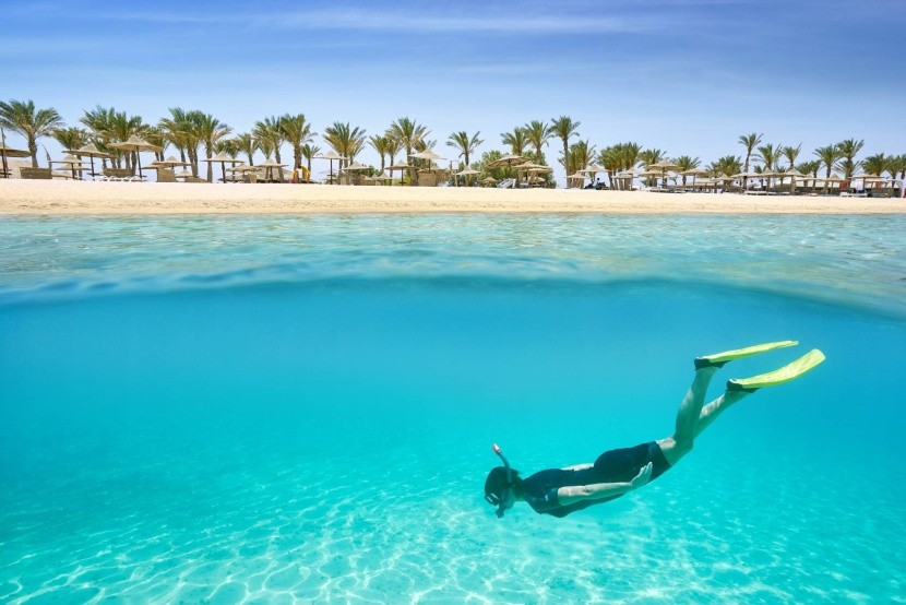 Potápěč v Rudém moři