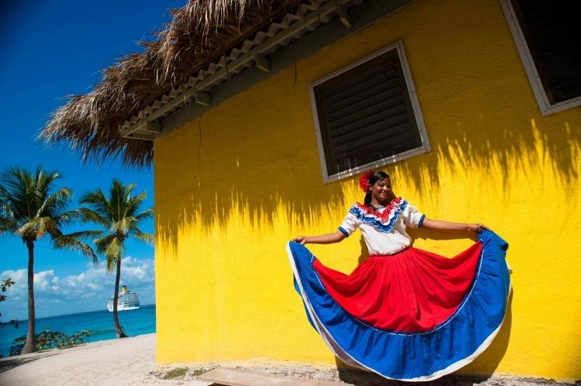 Dominikánska republika - miestna žena