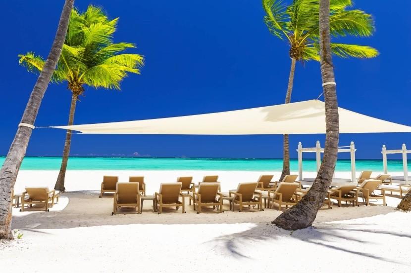 Pláž v Dominikánskej republike