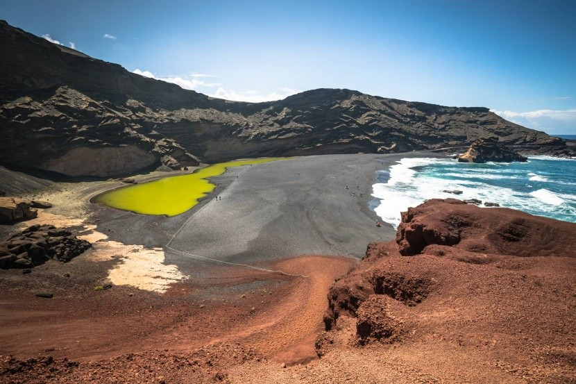 El Golfo a jezero Lago Verde