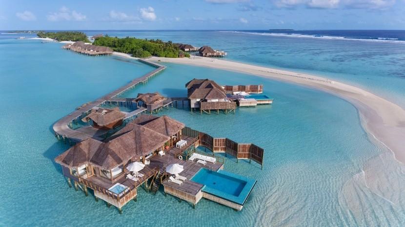 Hotelový resort Conrad Maldives Rangali Islan