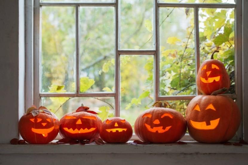 Halloween - vyřezávané dýně