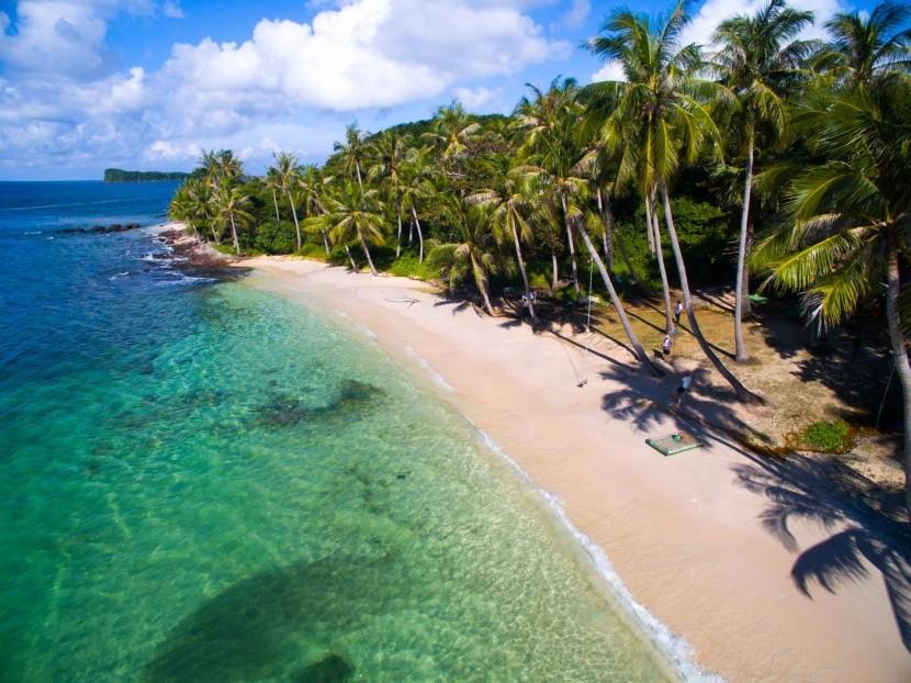 Ostrov May Rut neďaleko Phu Quoc