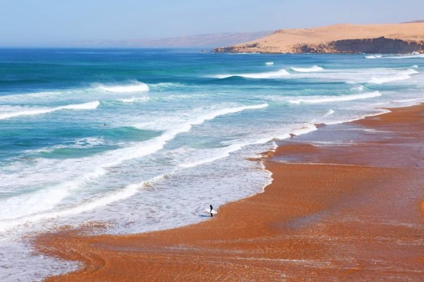 Tamri strand, Marokkó