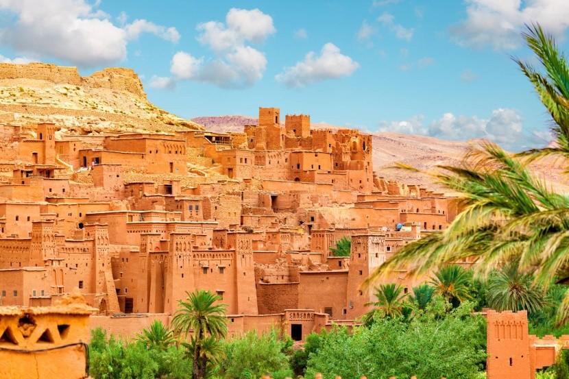Kasbah Ait Ben Haddou, Maroko