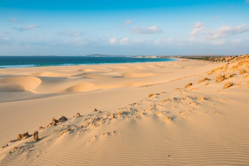 Piesočné duny na ostrove Boa Vista