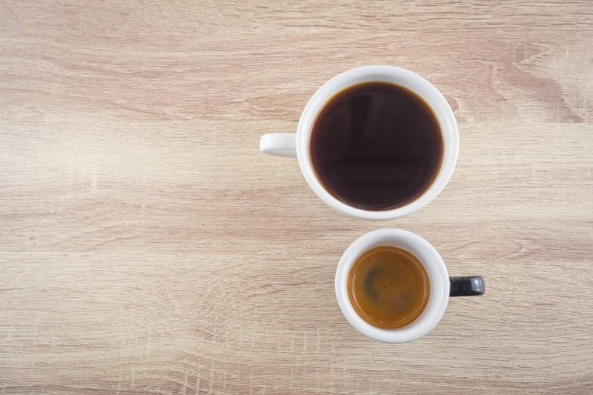 Americano és az espresso összehasonlítva