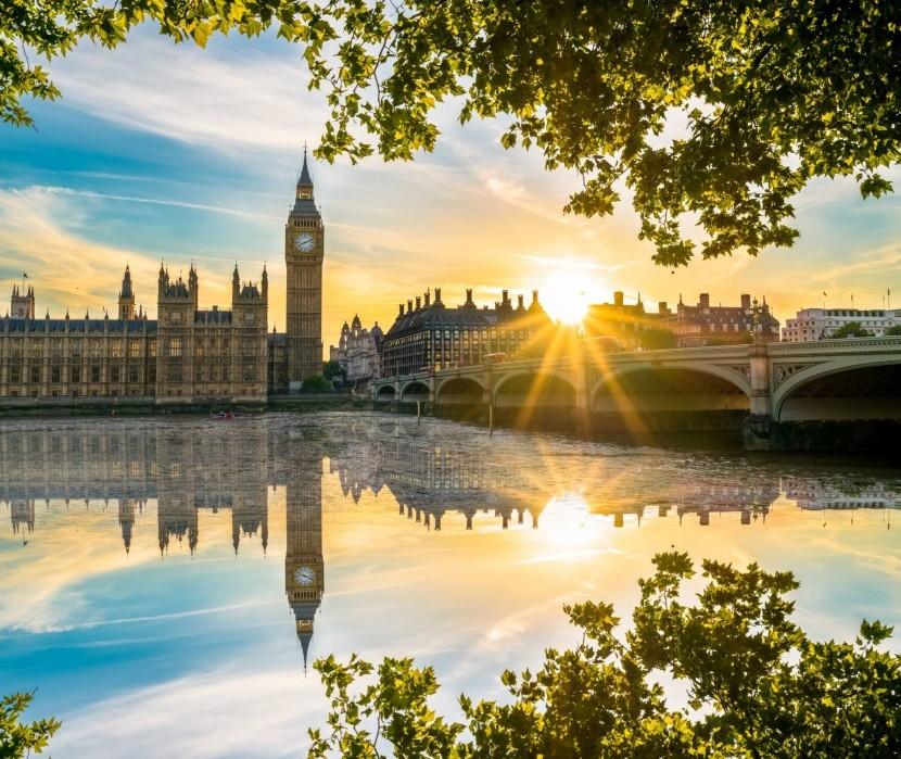 London felhők nélkül