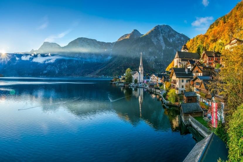 A Hallstatti-tó