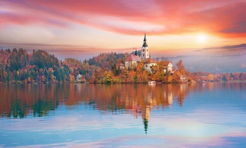 A csodás bledi tó