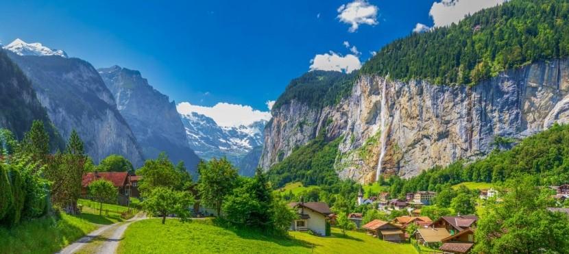 Lauterbrunnen, Svájc egyik gyöngyszeme