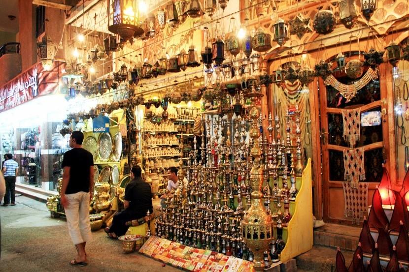 Nákupy v Hurghadě