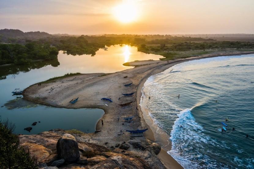 Záliv Arugam, Srí Lanka