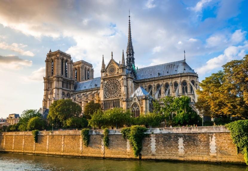 A Notre Dame Párizsban