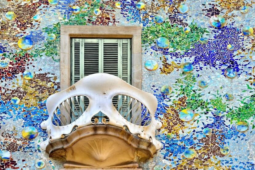 Casa Batlló részlete