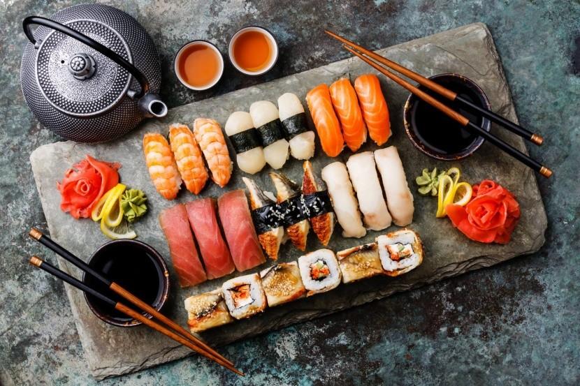 Japán sushi