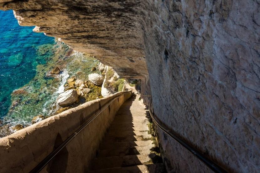 Az aragóniai király lépcsője, Bonifacio