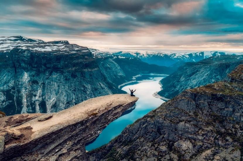 Troltunga, Norsko