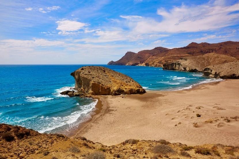 Pláž Monsul, Andalusie, Španělsko