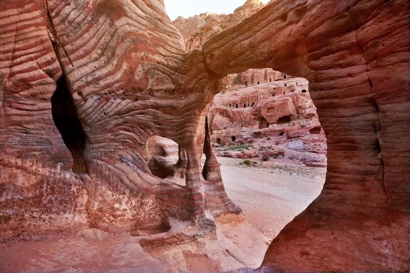 Petra sziklaváros, Jordánia