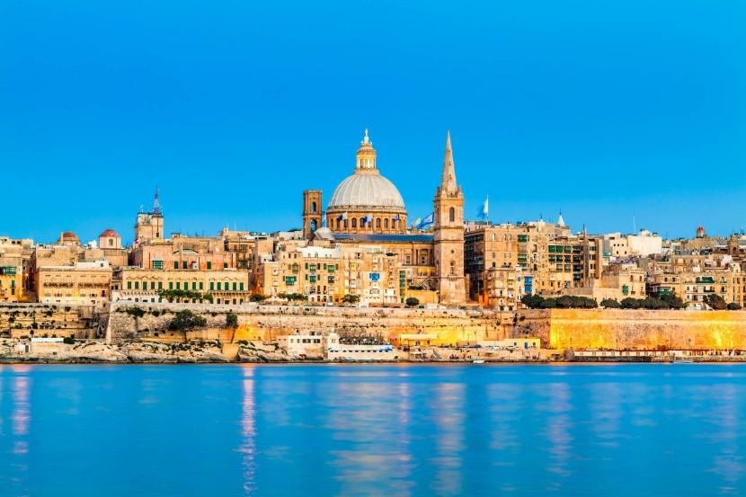 Valletta csodás látképe