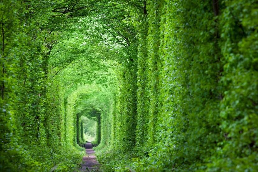 Tunel lásky na Ukrajine