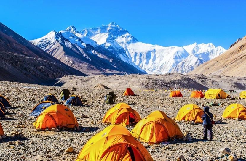 Základný tábor Mt. Everestu (5200 m)