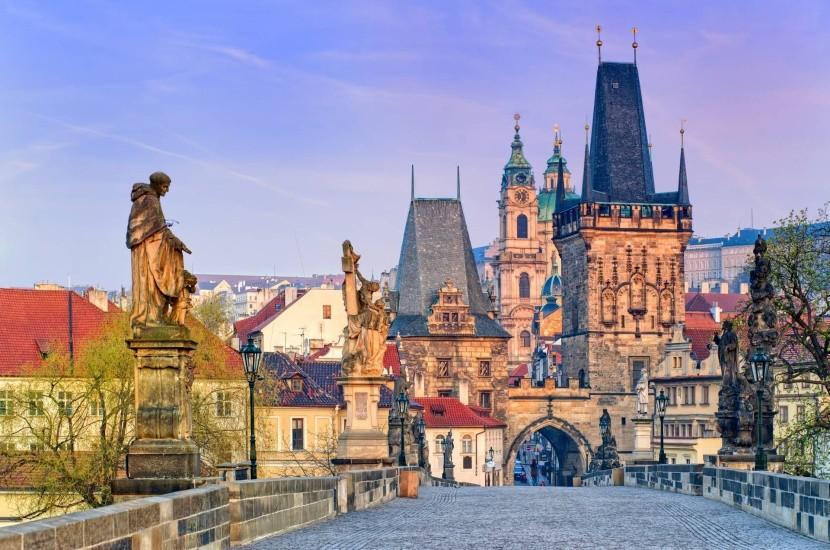 A Károly-híd Prágában