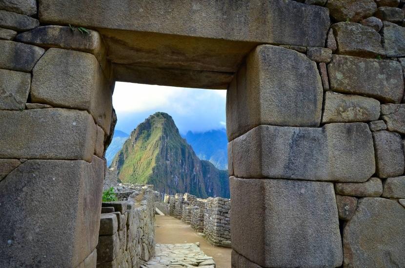 Machu Picchu bejárati kapuja