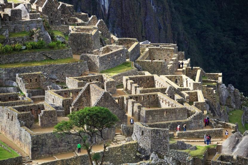Épületek maradványai Machu Picchuban
