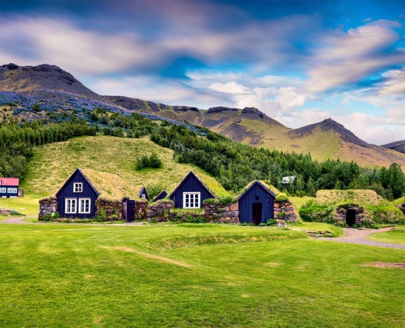 Skogar, Island