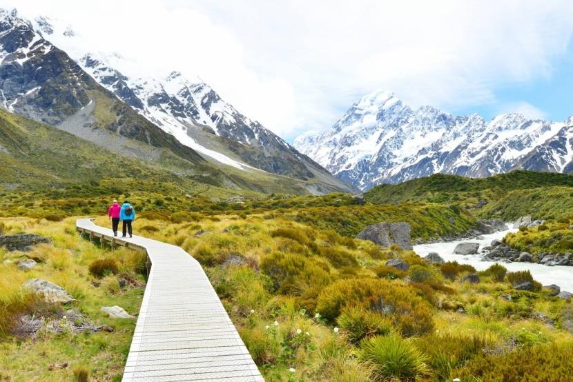 Národní park Aoraki Mount Cook